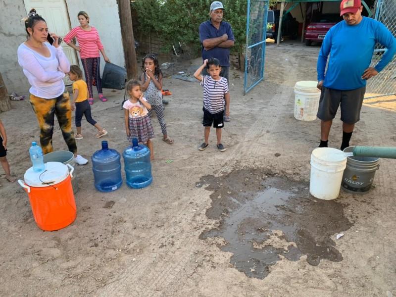 Restablece Oomapas y CFE servicio de agua