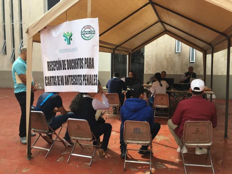 Restablecen expedición de Carta de No Antecedentes Penales