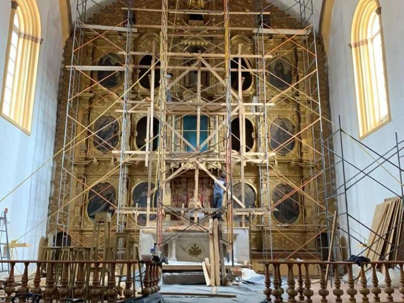 Restaura SOP templo de Sa Francisco en SCLC