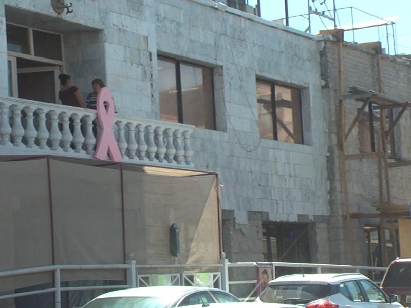 Restauración de palacio municipal sin avance en varios meses