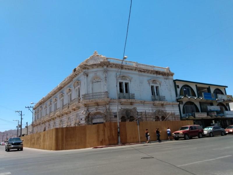 Restauran edificio histórico de Guaymas