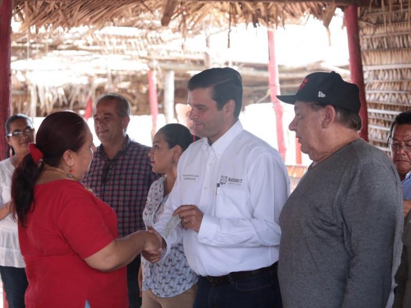 Restauranteros damnificados recibieron apoyo de 50 mil pesos