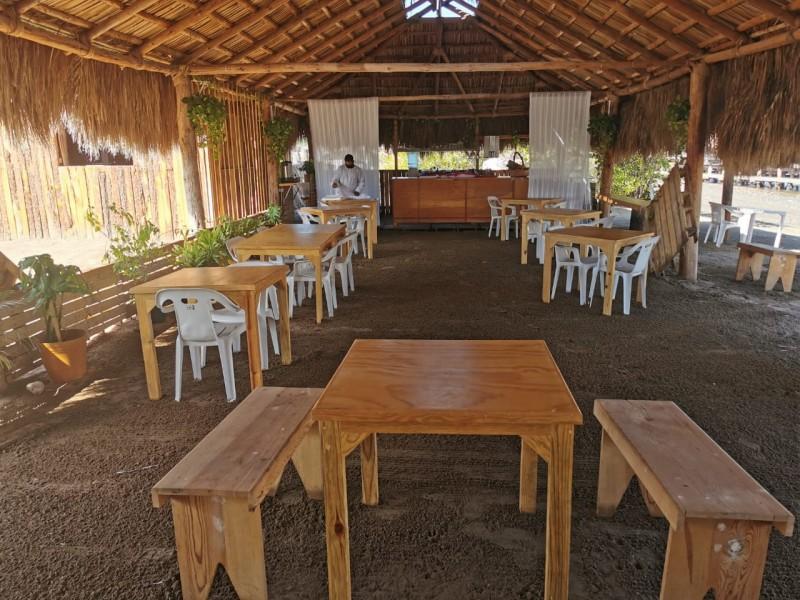 Restauranteros del Maviri luchan por sobrevivir