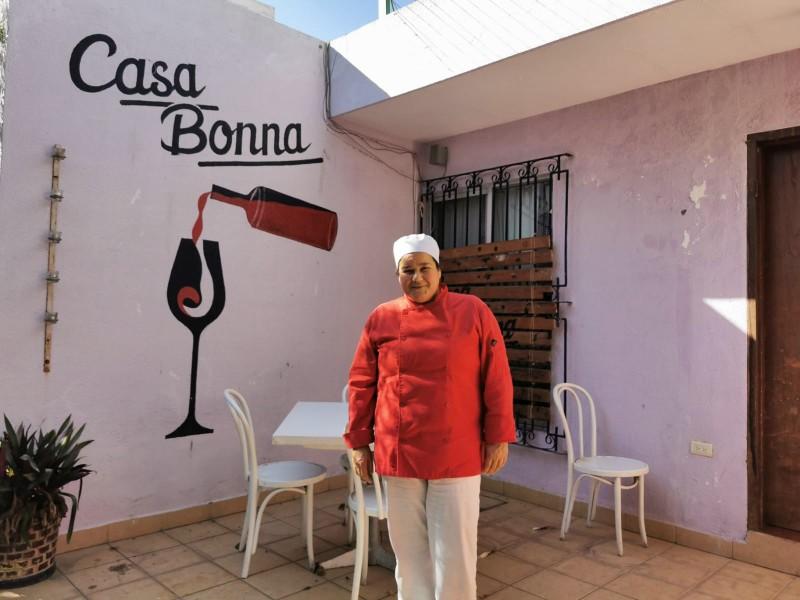 Restauranteros enfrentan la pandemia, la historia de Casa Bonna