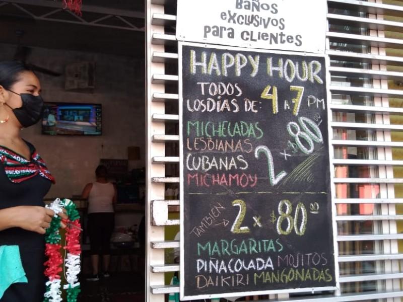 Restaurantes al 25% de reservación por grito de la Independencia