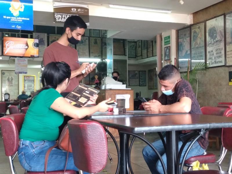 Restaurantes de zona peatonal al tope; viven plena recuperación económica