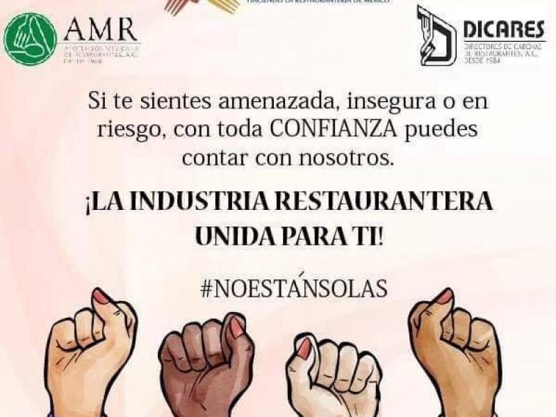 Restaurantes zacatecanos buscan proteger integridad de mujeres
