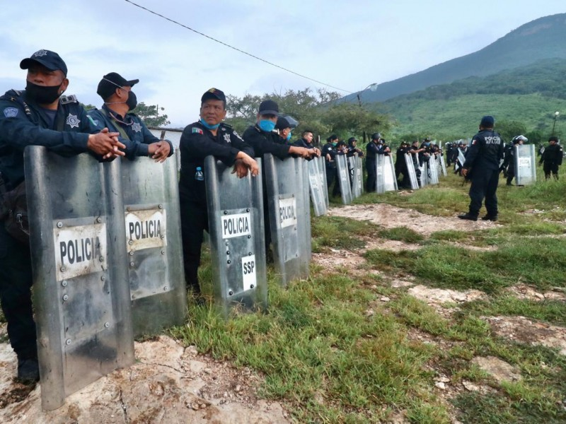 Restituye FGE predio La Fortuna en Tuxtla Gutiérrez