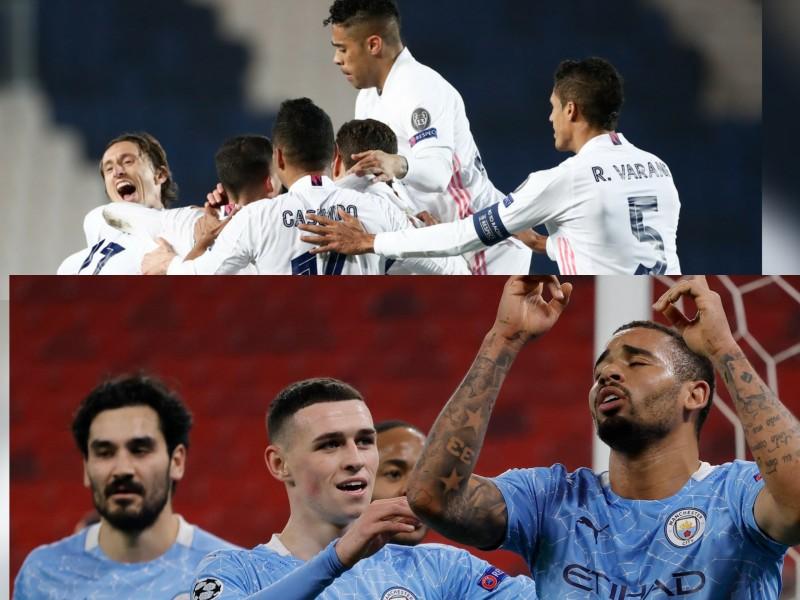 Resúmen de la Champions. Madrid y el City ganan.