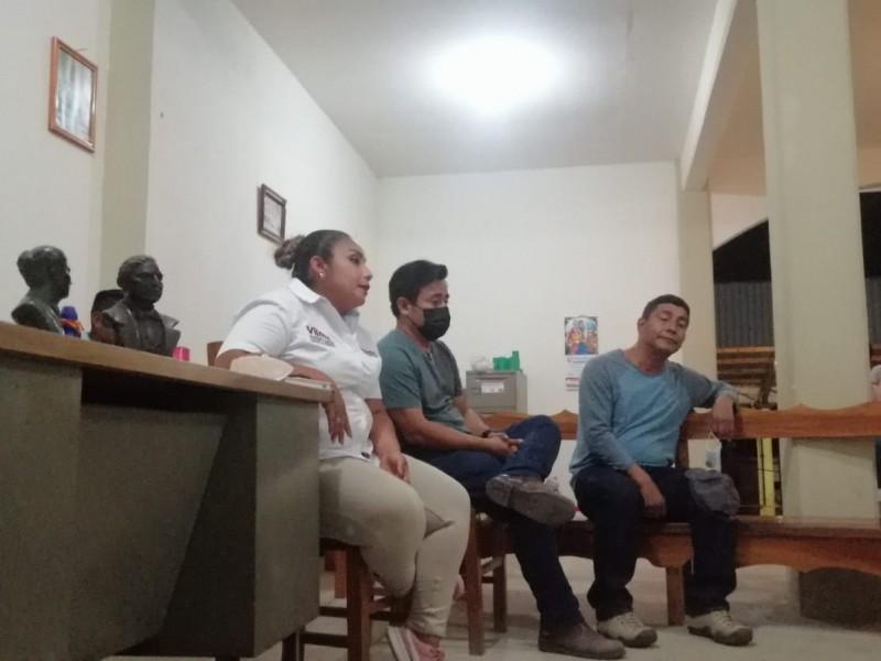 Retienen a candidata de MORENA en la sierra Mixe-Zapoteca