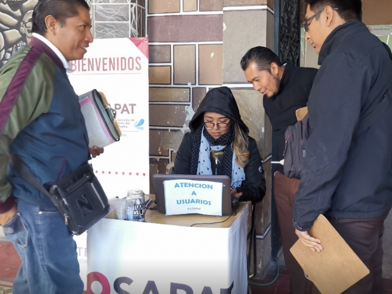 Retira OOSAPAT módulo de cobro en centro por quejas ciudadanas