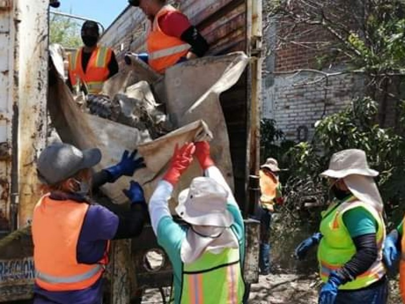 Retiran 45 toneladas de cacharros de colonias zamoranas