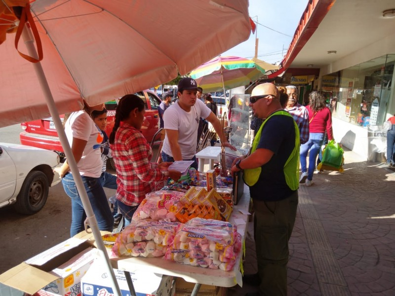 Retiran permisos para venta de pirotecnia en Navojoa