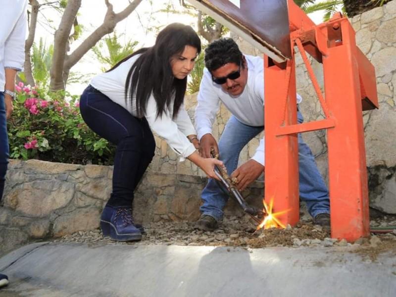 Retiran pluma del acceso a playa Palmilla
