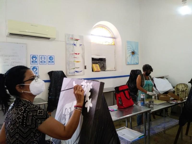 Retoma Casa de la Cultura talleres artísticos con protocolos de seguridad