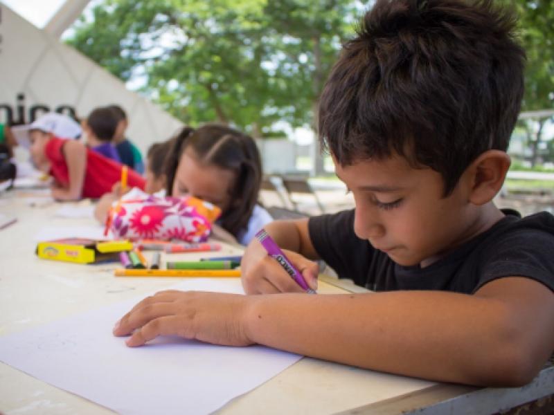 """Retoma CEDH concurso de dibujo infantil """"Ilumina tus derechos"""