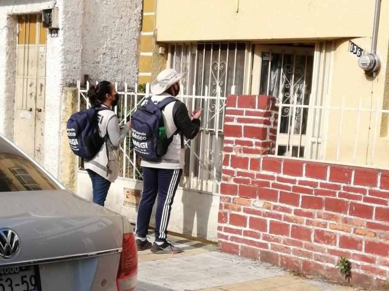 Retoma INEGI pendientes del Censo 2020 en Jalisco