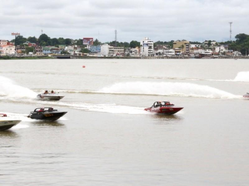 Retoman  en Tuxpan, competencias de Motonáutica