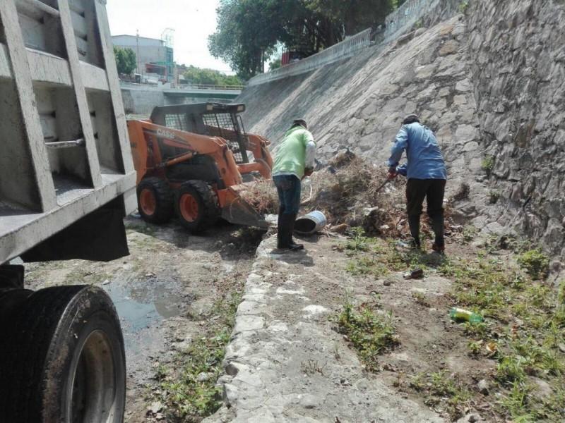 Retoman limpieza del Río Sabinal
