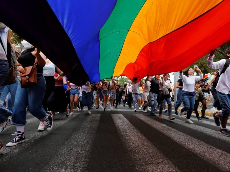 Retoman marcha LGTB de manera presencial