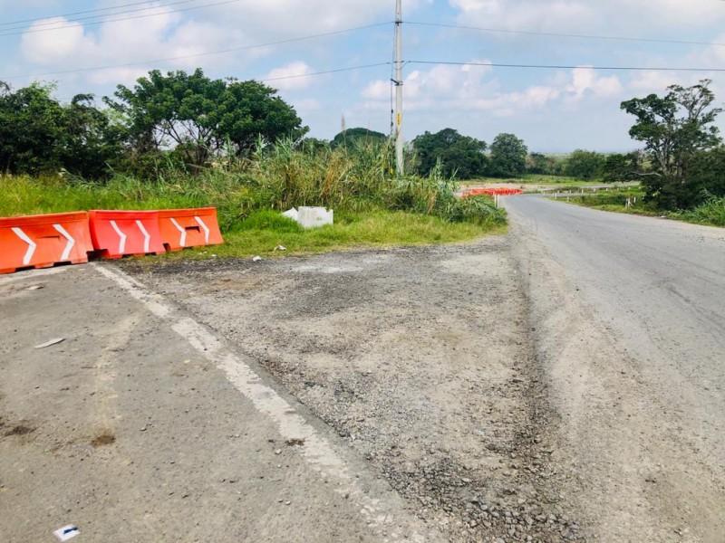 Retoman trabajos en la Tuxpan-Tampico