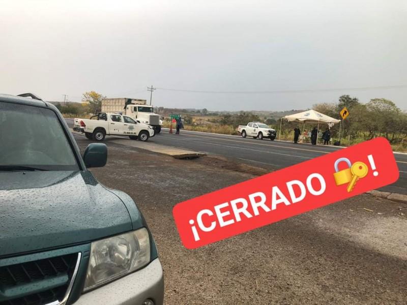 Retornan 55 vehículos sin justificación en Santa María del Oro