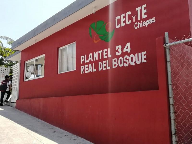 Retornan a clases 1% de escuelas en Chiapas