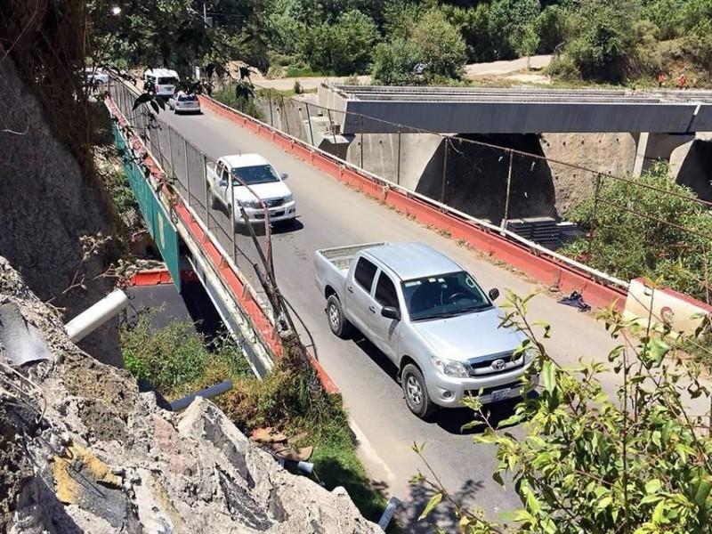 Retrasa a Interurbano cambio de puente