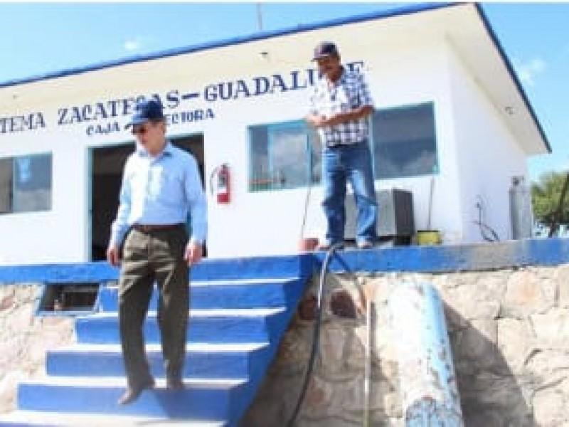 Retrasada producción de agua para Guadalupe por obras