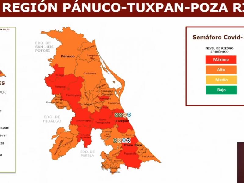 Retroceden municipios en semáforo de la Nueva Normalidad