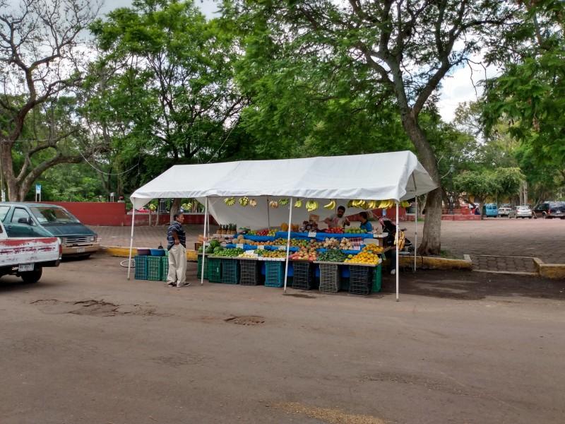 Reubican comerciantes ambulantes de Jiquilpan