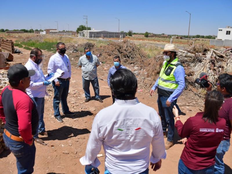 Reubicarán tres ladrilleras en Guadalupe
