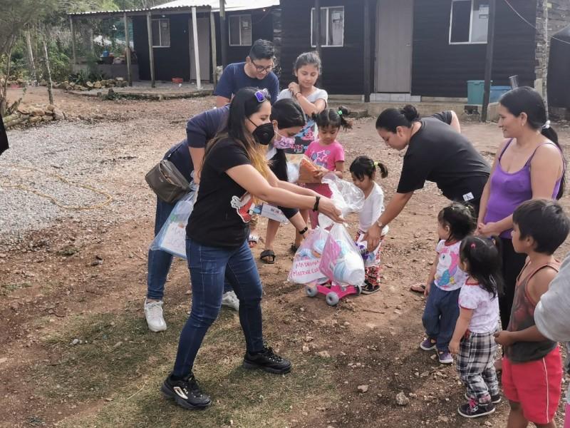 Reúnen juguetes para entregar el día del niño