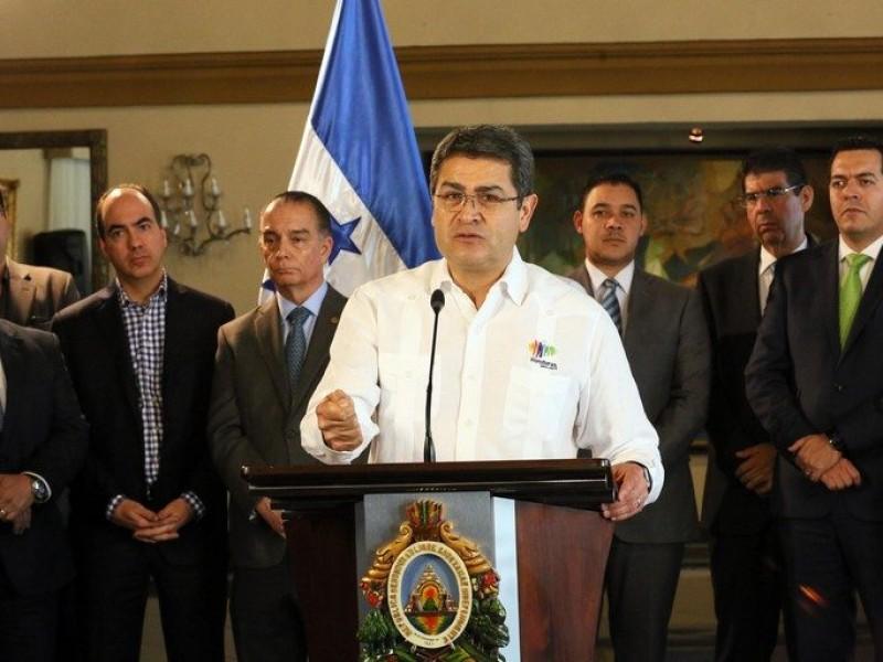 Reunión bilateral entre México y Honduras