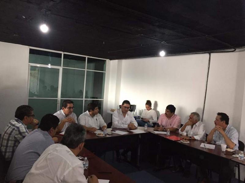 Reunión de empresarios con Secretaría Economía