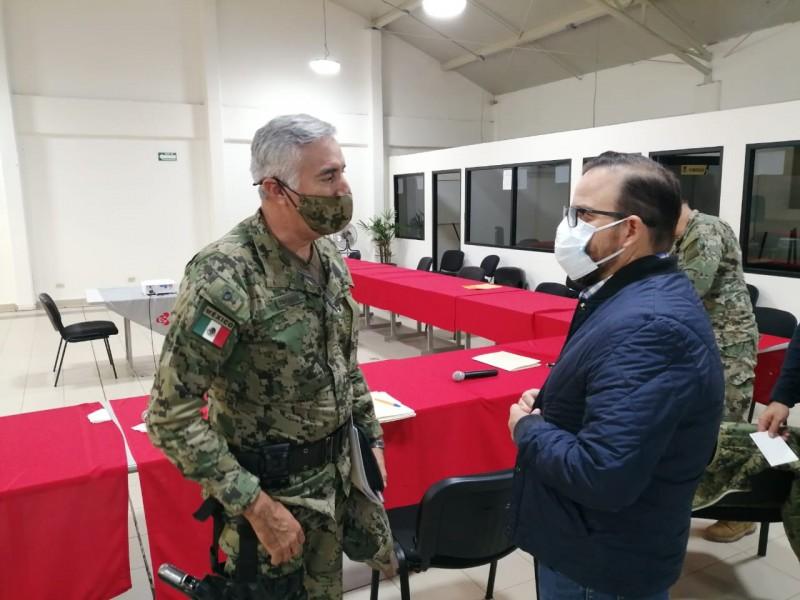 Reunión de fuerzas entre el estado y Cajeme