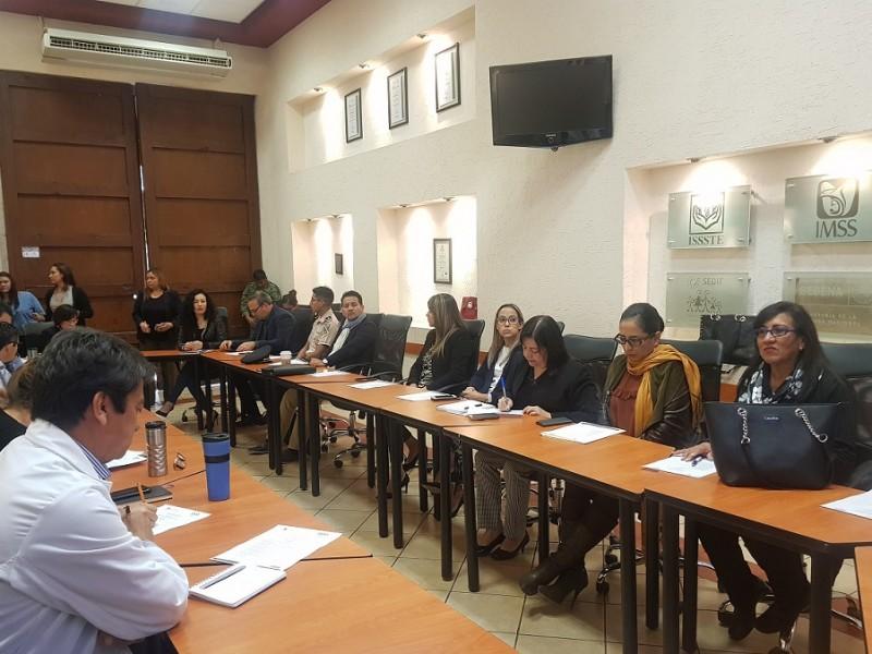 Reunión del Comité Estatal para la Salud