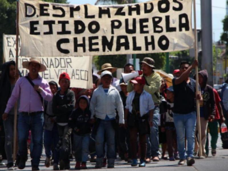 Reunirán ayuda para desplazados de Chenalhó
