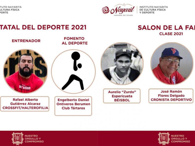 Revelan nuevos integrantes del Salón de la Fama del Deporte