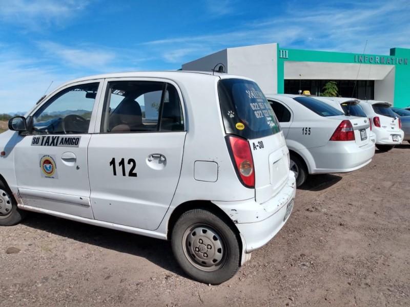 Revisarán taxis en Lupe-Reyes