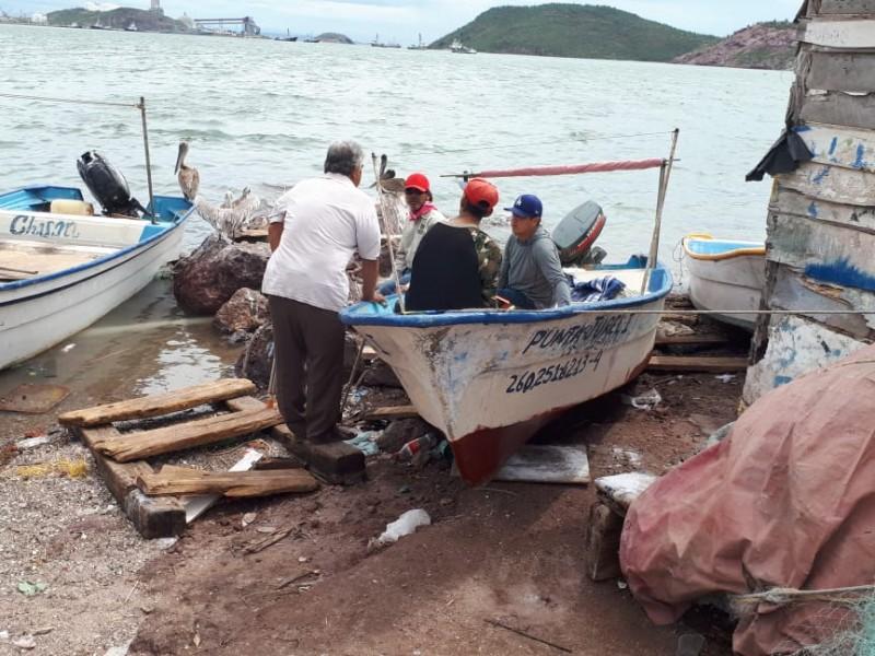 Ribereños se quedaron en puerto por Lorena