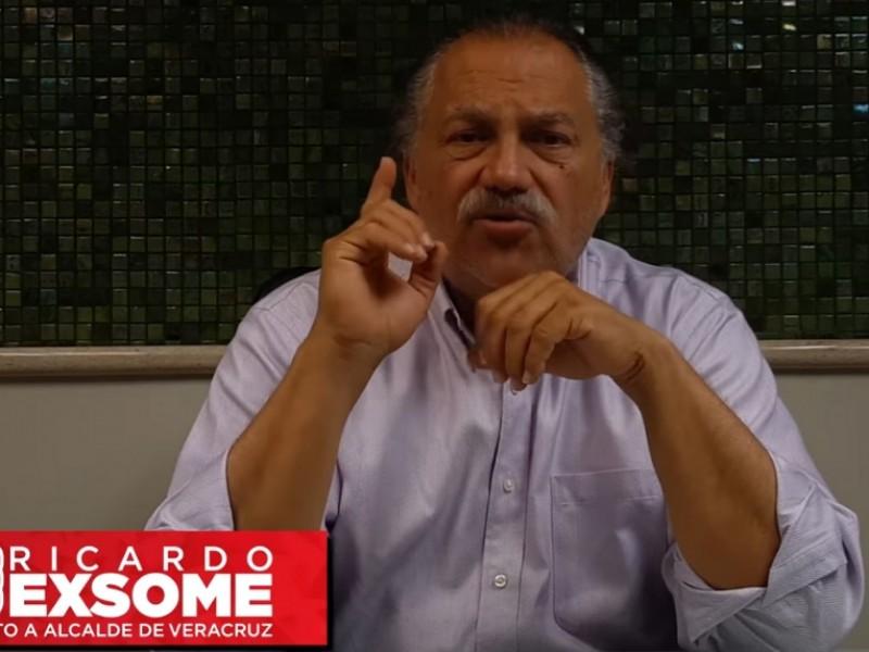 Ricardo Exsome denuncia irregularidades en el proceso electoral