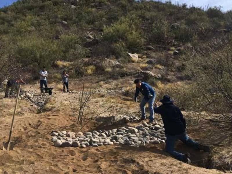 Riesgo en zona natural protegida en cerro Johnson por desmonte
