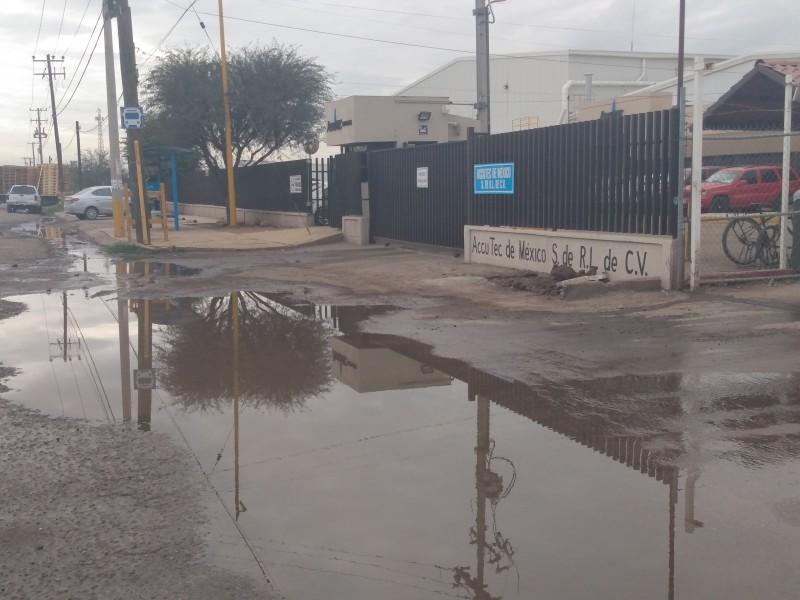 Riesgo sanitario en PICO, por fuga de drenaje