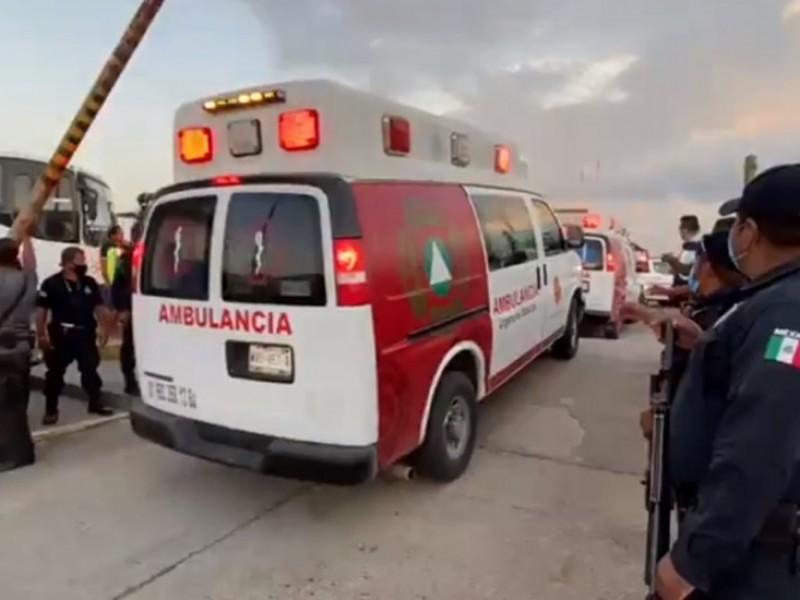 Riña en penal de Tabasco dejó seis muertos