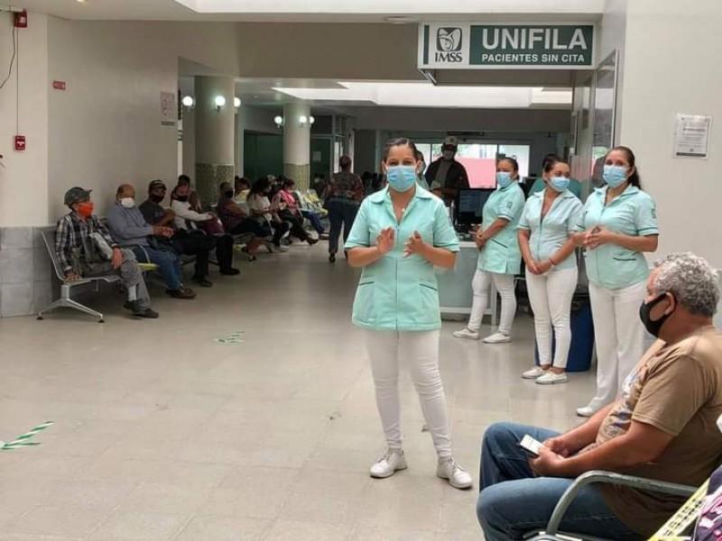 Rinde homenaje IMSS a pacientes, trabajadores y fallecidos por COVID-19