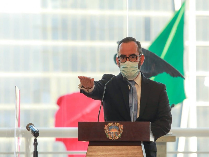Rinde protesta Miguel Parrodi Espinosa como Presidente Municipal