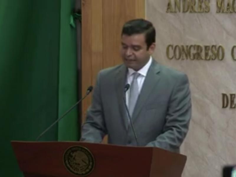 Rindió segundo informe Antonio Echevarria García.