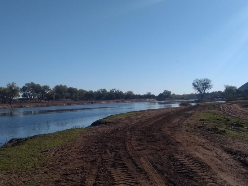 Río Fuerte, victima de obras sin conciencia ecológica