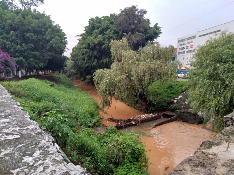 Ríos y drenes sin mantenimiento en los últimos dos años